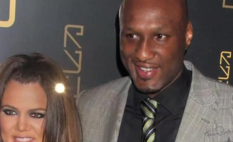 Khloe and Lamar: Spotted at Kanye West Tour!