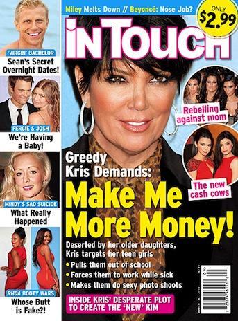 Kris Jenner Cover