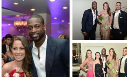Dwyane Wade Prom Appearance: Surprise!