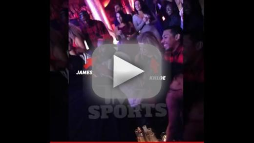 Khloe kardashian and james harden spotted in vegas