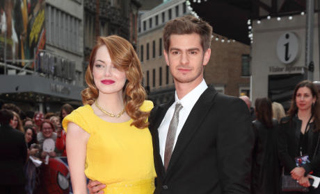 Emma Stone and Andrew Garfield: Red Carpet Romance at Spider-Man 2 Premiere
