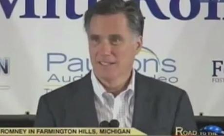 Mitt Romney Pretends to Love Michigan