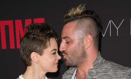 Rose McGowan and Davey Detail: It's Over!