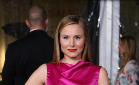 Kristen Bell Posts CUTEST. INSTAGRAM. EVER.