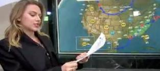 Scarlett Johansson Delivers Weather Forecast on Today Show