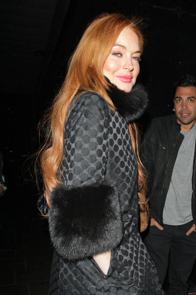 Lindsay Lohan Drunk Photo