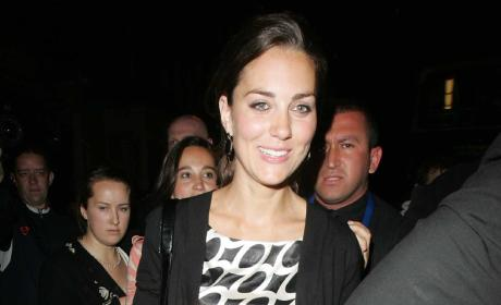 Kate Middleton Leaves Boujis In May 2007