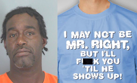 "Man Arrested For ""Mr. Right"" T-Shirt, Refusal to Leave Park"