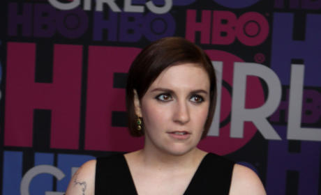 Lena Dunham: Girls Season 4 Premiere