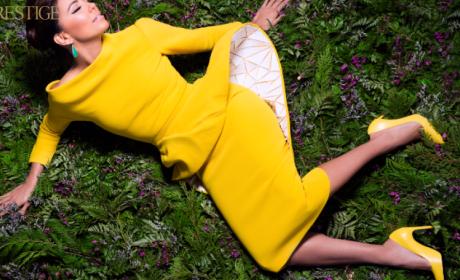 Eva Longoria in Yellow