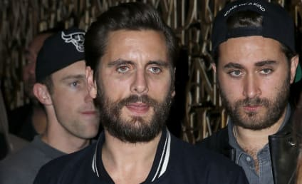 Scott Disick: Spotted With New MYSTERY BRUNETTE!