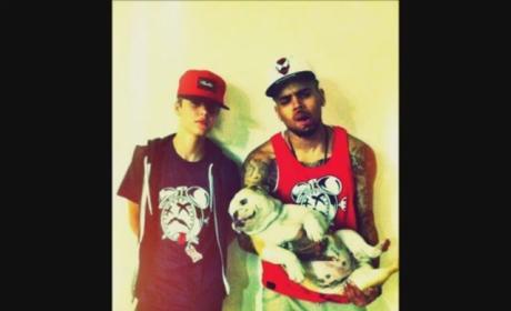 Justin Bieber and Chris Brown Duet: It's a Rap!