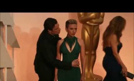 Scarlett Johansson: There's Nothing Creepy About John Travolta!