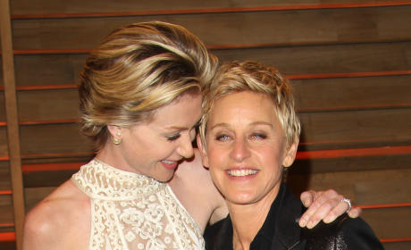 Ellen and Portia Party