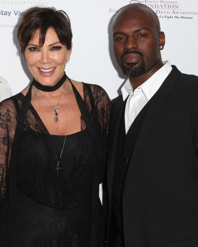 Corey Gamble and Kris Jenner Image