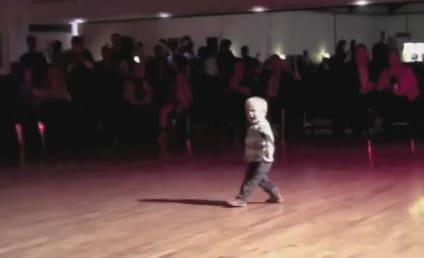 "William Stokkebroe, Age 2, Dances to ""Jailhouse Rock"""