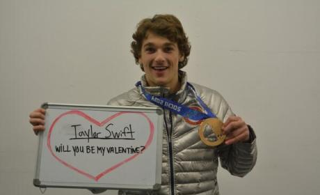 Nick Goepper to Taylor Swift: Be My Valentine!