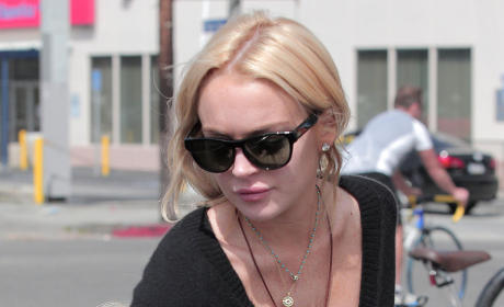 Lindsay Lohan, Paris Hilton Fight in Public. Or Make Up. Or Somehow Interact.