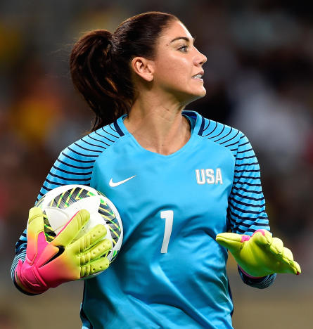 Hope Solo Has No Chill