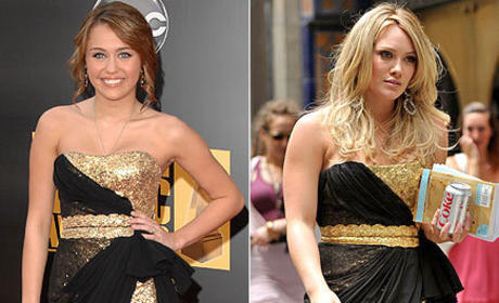 Fashion Face-Off: Miley Cyrus vs. Hilary Duff