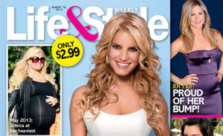 Jessica Simpson Weight Loss Magazine Cover