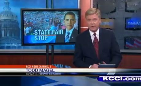 President Obama at Iowa State Fair