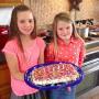 Johannah & Jennifer Duggar Birthday Cake