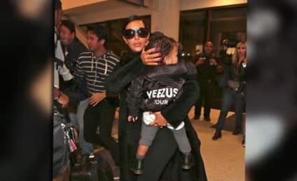 Kim Kardashian Dresses North in Kanye-Inspired Ensemble: All Hail Yeezus!