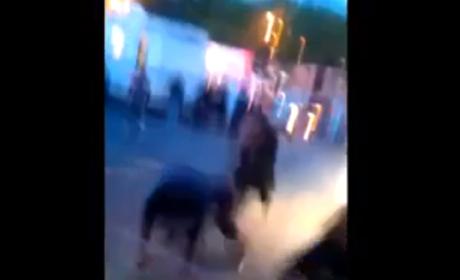 50 Cent-Gunplay Fight