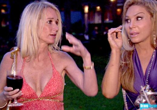 Kim Richards and Adrienne Maloof