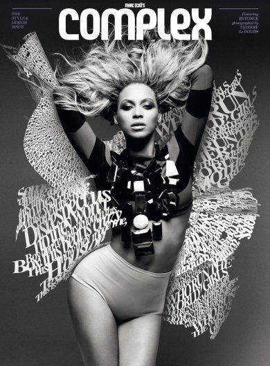 Beyonce Complex Cover