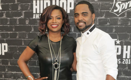 Kandi Burruss and Todd Tucker Pic