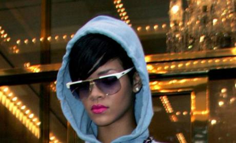 Rihanna Heads Back to Civilization