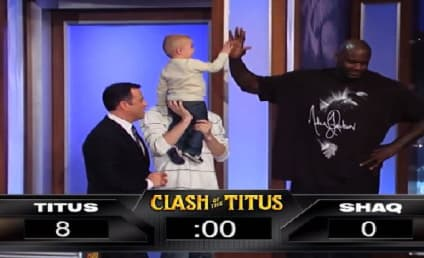 Shaq vs. 2-Year Old: Who's the Better Shooter?