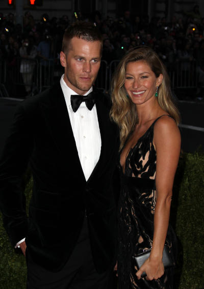 Tom Brady, Gisele Bundchen Red Carpet Image