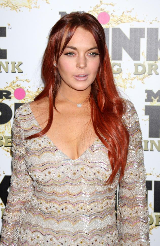 Lindsay Lohan Dazed