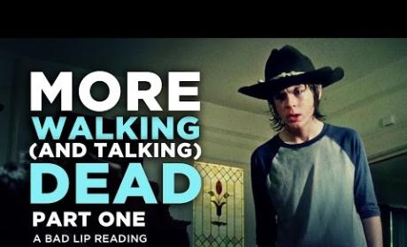The Walking Dead: Bad Lip Reading Hilarity