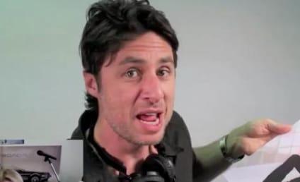 Zach Braff, Bunny Help Man Propose to Girlfriend