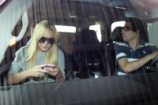 lindsay lohan actually tests negative for alcohol the hollywood gossip. Black Bedroom Furniture Sets. Home Design Ideas