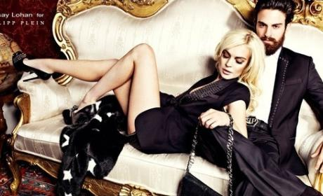 Lindsay Lohan For Philipp Plein: So Seductive, Yet Refined!