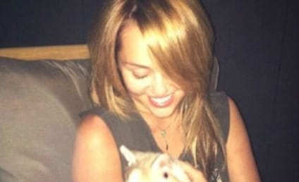 Miley Cyrus Has a New Puppy!!!