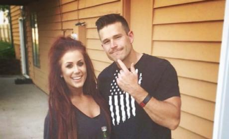Chelsea Houska and Cole DeBoer being cute