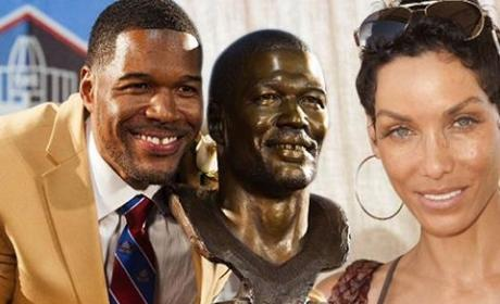 Nicole Murphy Stormed Hotel Room, Raged at Michael Strahan: Stop Banging That B-tch!