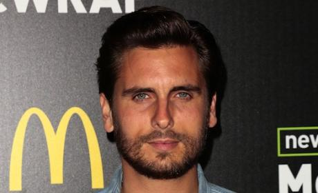"Scott Disick: ""Held Hostage"" By Kardashian Sisters, Not Allowed Near Booze, Source Claims"