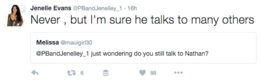 Jenelle Evans tweets about ex Nathan Griffiths