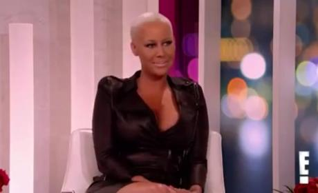 Amber Rose: How Large Are Her Boobs?