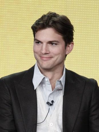 Shaven Ashton Kutcher