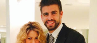 Gerard Piqué and Shakira Pic