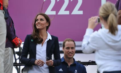 Kate Middleton Olympic Fashion Watch: One-Button Blue Blazer!