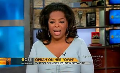 Oprah on CBS This Morning